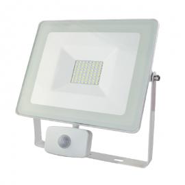Reflector LED c/sensor 50W...