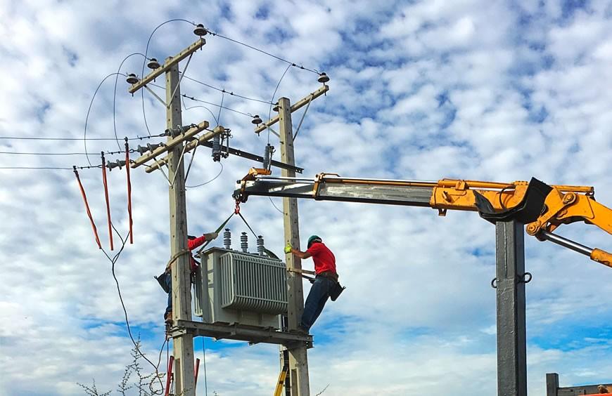 Mantenimiento e instalaciones de subestaciones y redes de media tensión